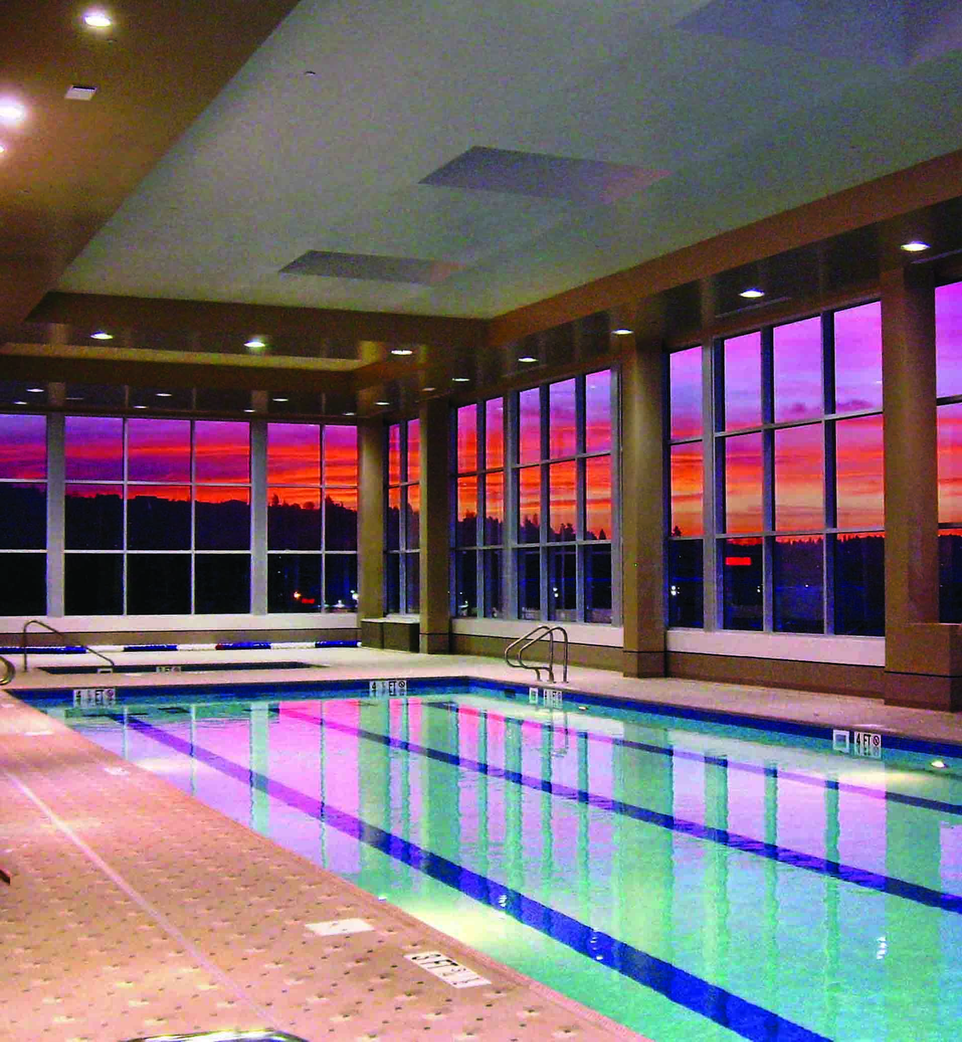 La Fitness Ballard Commercial Pool Lo Stainless Aquatics Stainless Steel Pools And Spas