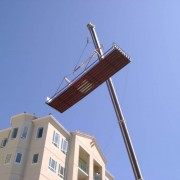 Oceanside Pier Crane Pool Installation
