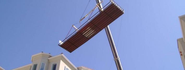 Oceanside Pier Crane Pool Installation