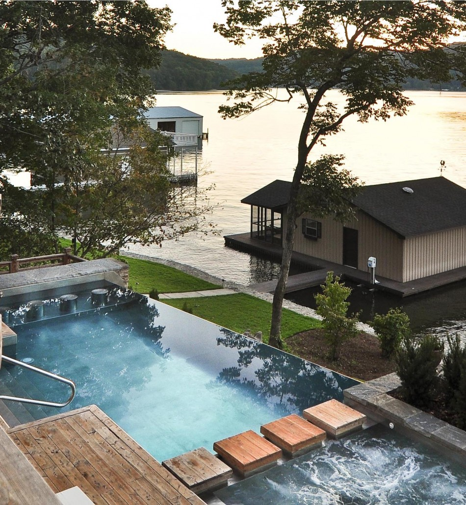 Elevated Pool Why Use A Stainless Steel Pool Steel Hot Tub Or Steel Spa