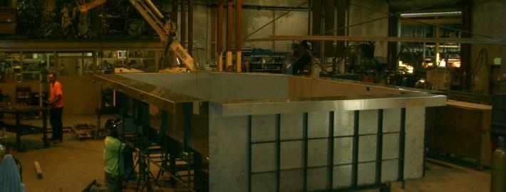 Steel Pool Fabrication