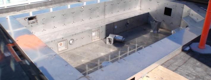 Residential Stainless Steel Pool