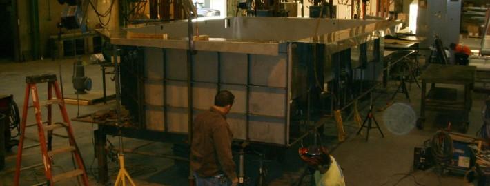 Steel Pool Los Angeles Fabrication