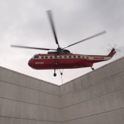 Helicopter Installation of Steel Pool