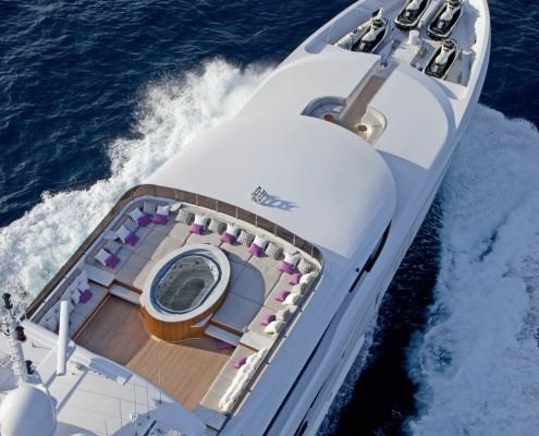Trinity Yacht Stainless Steel Spa