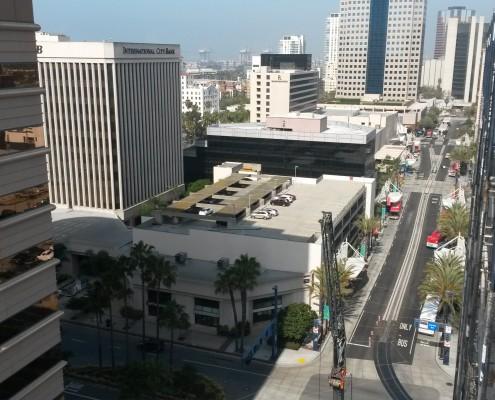 Edison Lofts LA Rooftop Pool Installation