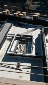 Gayley Los Angeles Rooftop Pool Installation Preparation 3