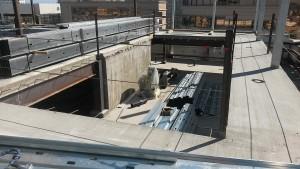 Rooftop Steel Pool Construction