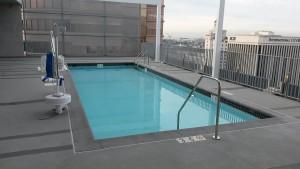 Rooftop Pool Edison Lofts - Los Angeles