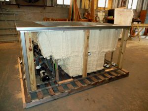 Stainless Steel Spa Ready For Delivery