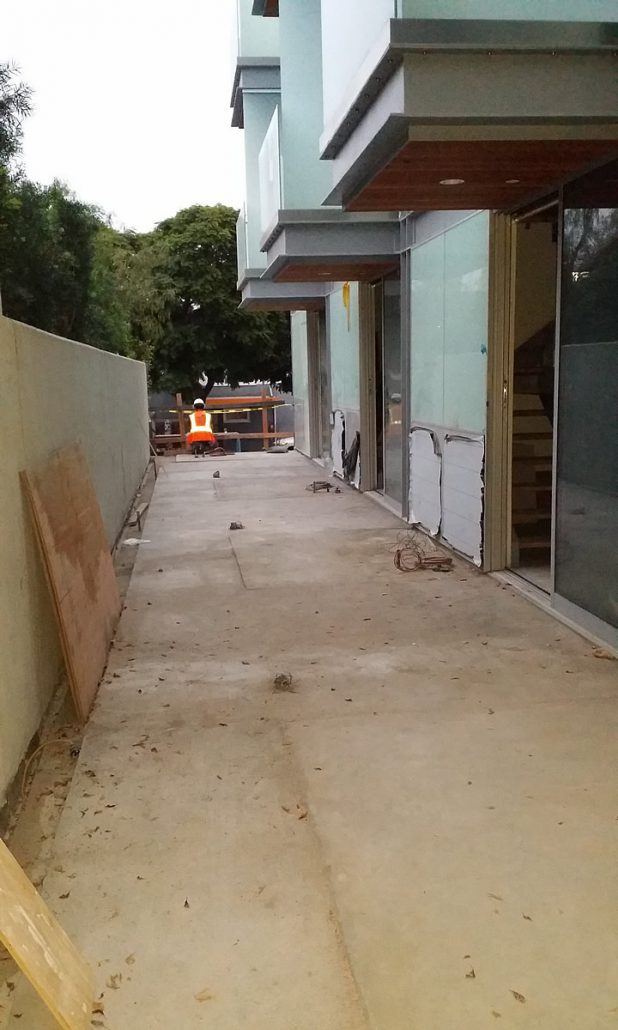 Stainless Steel Spa 2nd Floor Patio Project Beverly