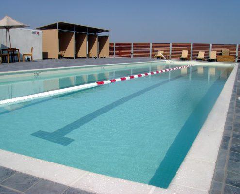 Equinox Hawthorne Roof Stainless Steel Pool