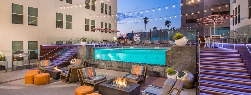 Broadway Arms Pool, Anaheim CA