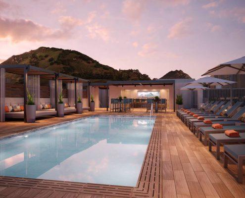 Hotel Serra Rooftop Pool - San Luis Obispo